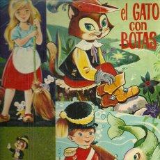 Discos de vinilo: LA CENICIENTA, PINOCHO LP SELLO PALOBAL EDITADO EN ESPAÑA, EL GATO CON BOTAS, EL SOLDADITO DE PLOMO. Lote 53348489