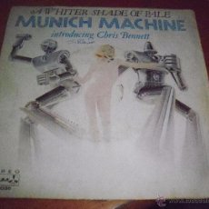 Discos de vinilo: SINGLE DE MUNICH MACHINE, A WHITTER SHADE OF PALE. EDICION DURIUM DE 1978 (ITALIA).. Lote 53354340