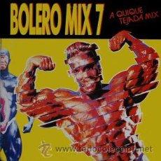 Discos de vinilo: BOLERO MIX 7. Lote 53358961