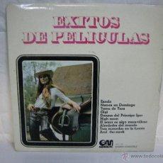 Discos de vinilo: EXITOS DE PELICULAS ** ORQUESTA 101 STRINGS ** GRAMUSIC ** LP VINILO. Lote 53359547