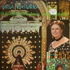 Discos de vinilo: PILARIN BUENO / EL PASTOR DE ANDORRA LP AÑO 1979 EDITADO EN ESPAÑA, MISA BATURRA Y JOTAS POPULARES. Lote 53359577