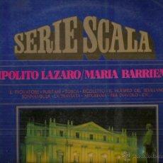Discos de vinilo: HIPOLITO LAZARO / MARIA BARRIENTOS LP SELLO MOVIEPLAY AÑO 1972 EDITADO EN ESPAÑA. Lote 53359684