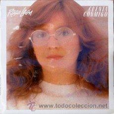 Discos de vinilo: ROSA LEON,CUENTA CONMIGO. Lote 53360963