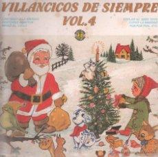 Discos de vinilo: VILLANCICOS DE SIEMPRE VOL.4 ..LP. Lote 53364088