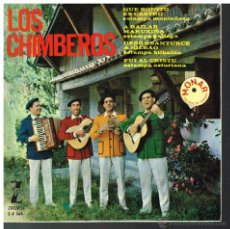 Discos de vinilo: LOS CHIMBEROS - QUE BONITO ES CASTRO / A BAILAR MARUXIÑA / FUI AL CRISTU +1 - EP 1964. Lote 53364631