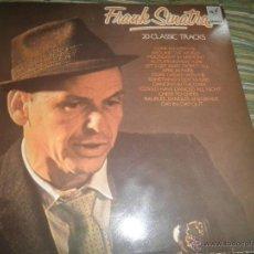 Discos de vinilo: FRANK SINATRA - 20 CLASSIC TRACKS LP - EDICION ESPAÑOLA - CAPITOL RECORDS 1986 - MUY NUEVO (5).. Lote 53365218