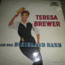 Discos de vinilo: TERESA BREWER - AND THE DIXIELAND BAND LP - ORIGINAL INGLES - CORAL RECORDS 1959 - MONOAURAL -. Lote 53366171