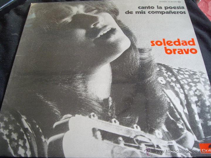 SOLEDAD BRAVO-CANTO LA POESIA DE MIS COMPAÑEROS (Música - Discos - LP Vinilo - Cantautores Extranjeros)