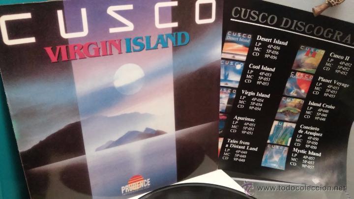 CUSCO - VIRGIN ISLAND (PRUDENCE RECORDS) 1989 / AMBIENT - EASY LINTENING - FOLK (Música - Discos - LP Vinilo - Electrónica, Avantgarde y Experimental)