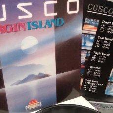 Discos de vinilo: CUSCO - VIRGIN ISLAND (PRUDENCE RECORDS) 1989 / AMBIENT - EASY LINTENING - FOLK. Lote 53369012