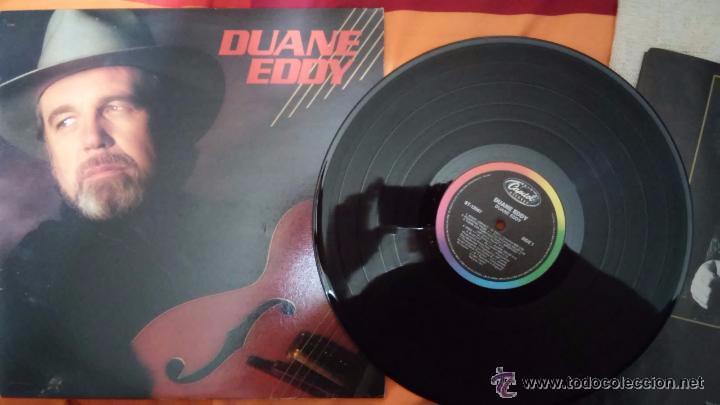 DUANE EDDY - LP (1987) / COUNTRY ROCK, ROCKABILLY (Música - Discos - LP Vinilo - Country y Folk)