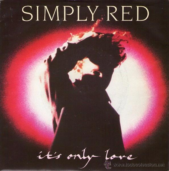 Simply red it 39 s only love 7 single comprar discos for Simply singles