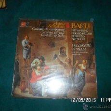 Discos de vinilo: J. S. BACH, CANTATA DE BODA, DEL CAFE, DE CAMPESINOS. BASF/HARMONIA MUNDI 1975. Lote 53375328