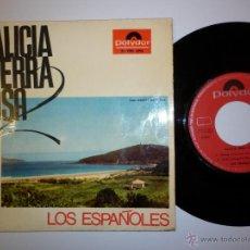 Discos de vinilo: LOS ESPAÑOLES- GALICIA TERRA NOSA-1968-EP. Lote 53377476