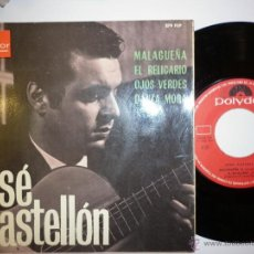 Discos de vinilo: JOSE CASTELLON - 1966 EP. Lote 53377709