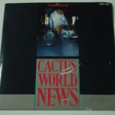 Discos de vinilo: CACTUS WORLD NEWS ( YEARS LATER - HURRY BACK - THIRD ONE LIVE ) 1986-UK EP45 MCA RECORDS. Lote 53378656