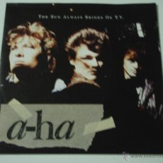 Discos de vinilo: A-HA ( THE SUN ALWAYS SHINES ON T.V. - DRIFTWOOD ) 1985 - GERMANY SINGLE45 WARNER BROS RECORD. Lote 53380372