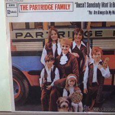 Discos de vinilo: THE PARTHIDGE FAMILY-DOESN,T SOMEBODY WANT TO BE WANTED-. Lote 53381398