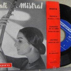 Discos de vinilo: NATI MISTRAL -EP 1962 -VERGARA. Lote 53382477