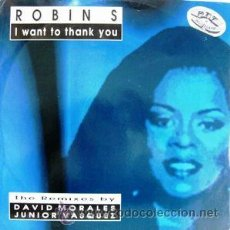 Discos de vinilo: ROBIN S- I WANT TO THANK YOU. Lote 53384244