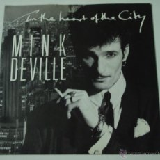 Disques de vinyle: MINK DEVILLE ( IN THE HEART OF THE CITY - PRIDE AND JOY ) ENGLAND-1985 SINGLE45 POLYDOR. Lote 53384279
