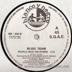 Discos de vinilo: BLISS TEAM ?– PEOPLE HAVE THE POWER. Lote 53384300