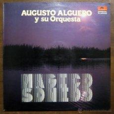 Discos de vinilo: AUGUSTO ALGUERO Y SU ORQUESTA - MAGICO SONIDO - REEDICION 1982. Lote 53387142