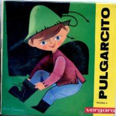 Discos de vinilo: PULGARCITO (DISCO LIBRO EP 1963). Lote 53387407