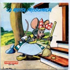 Discos de vinilo: LA RATITA PRESUMIDA (EP VERGARA 1966 CON LIBRETO). Lote 53387544