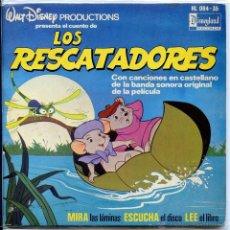 Discos de vinilo: LOS RESCATADORES (DISCO LIBRO 1977). Lote 53387641