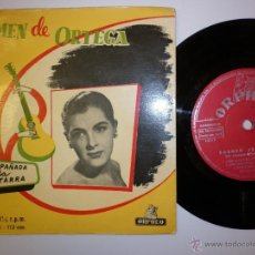Discos de vinilo: CARMEN DE ORTEGA - EP CON 6 TEMAS. Lote 53388723