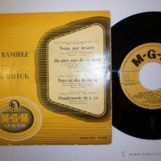 Discos de vinilo: CARLOS RAMIREZ - BARBARA RUICK- EP. Lote 53388838