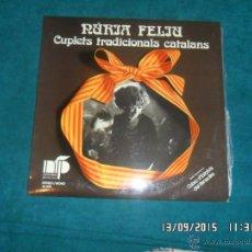 Discos de vinilo: NURIA FELIU CANTA CUPLETS CATALANS. NFP 1974. Lote 53390258