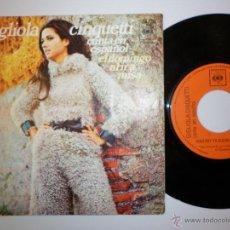 Discos de vinilo: GIGLIOLA CINQUETTI 1972 CANTA EN ESPAÑOL. Lote 53391183
