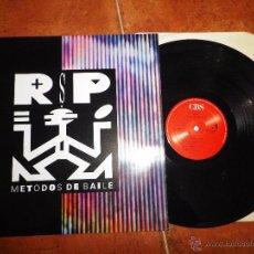 Discos de vinilo: RSP METODOS DE BAILE LP VINILO 1990 ESPAÑA AZUCAR MORENO RAFA SANCHEZ DE LA UNION LOS NIKIS 10 TEMAS. Lote 53391944