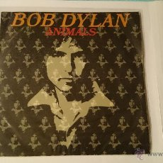 Discos de vinilo: BOB DYLAN - ANIMALS (MAN GAVE NAMES TO ALL THE ANIMALS) / WHEN HE RETURNS (1979. Lote 53393873