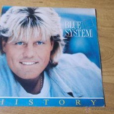 Discos de vinilo: BLUE SYSTEM.HISTORY MAXI 12. EDICION HOLANDESA. Lote 53393908
