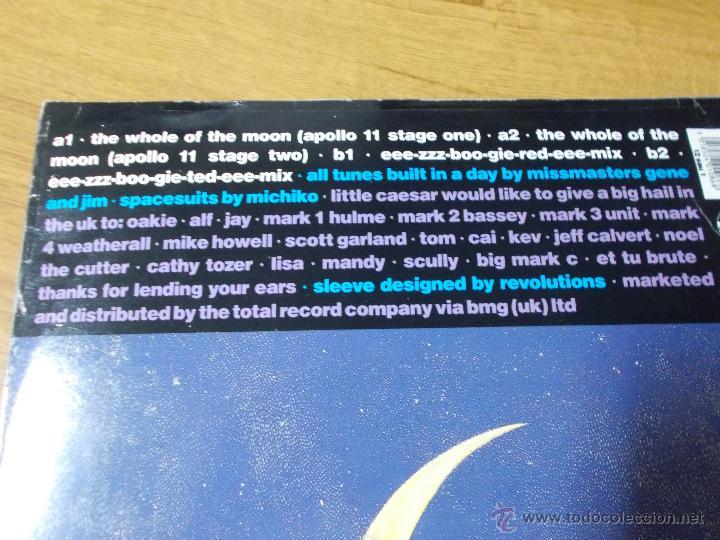Discos de vinilo: LITTLE CAESAR. THE WHOLE OF THE MOON MAXI 12. - Foto 3 - 53394090