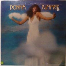 Discos de vinilo: DONNA SUMMER - A LOVE TRILOGY. Lote 53402941