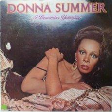 Discos de vinilo: DONNA SUMMER - I REMEMBER YESTERDAY . Lote 53402977
