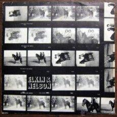 Discos de vinilo: ELKIN & NELSON - A CABALLO - PROMOCIONAL - 1974 - JUAN PARDO. Lote 53417135
