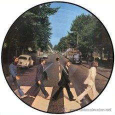Disques de vinyle: BEATLES LP ABBEY ROAD VINILO PICTURE DISC MUY RARO AUSTRALIA COLECCIONISTA. Lote 200327135