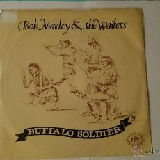 Discos de vinilo: BOB MARLEY & THE WAILERS - BUFFALO SOLDIER / BUFFALO (DUB) (1983). Lote 53421654