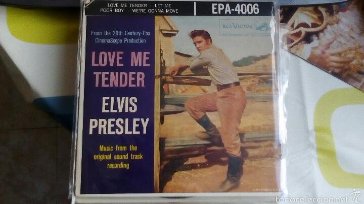 ELVIS PRESLEY - LOVE ME TENDER - EPA-4006 (Música - Discos de Vinilo - EPs - Bandas Sonoras y Actores)