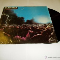 Discos de vinilo: BLACKJACK WORLDS APART LP VINILO. Lote 53431385