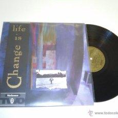 Discos de vinilo: 918- LIFE IS CHANGE VOL TWO DISCO VINILO LP - COVER -VG++-- DISCO -VG+. Lote 53431932