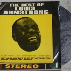 Disques de vinyle: THE BEST OF LOUIS ARMSTRONG. STEREO. EKIPO. AÑO 1970. Lote 53435364