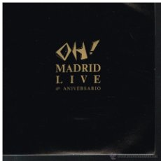 Discos de vinilo: OH! MADRID LIVE. 4º ANIVERSARIO - SINGLE 1987 - PROMO UNA CARA. Lote 53438399