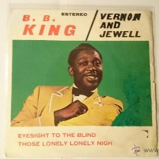 Vinyl records - B.B. KING / VERNON AND JEWELL - EYESIGHT TO THE BLIND / THOSE LONELY LONELY NIGHTS (1969) - 53438677