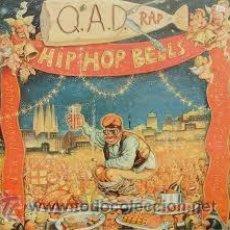 Discos de vinilo: Q.A.D. RAP,HIP HOP BELLS. Lote 53438905